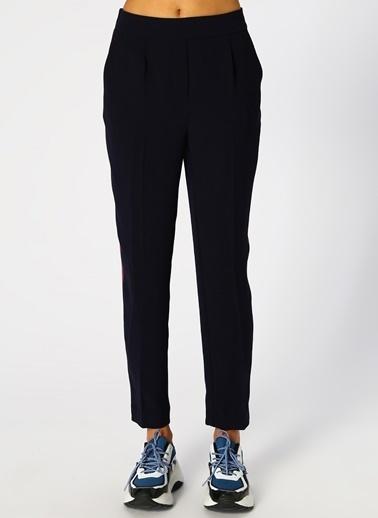 North Of Navy North Of Navy Kadın Boru Paça Lacivert Pantolon Lacivert